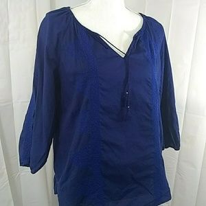 Express  Womens  Size M  Embroidered Blouse
